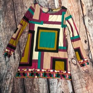 Skye's Multi Colored Long Sleeve Tunic